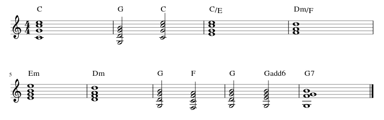 Montezuma Guitar Chords